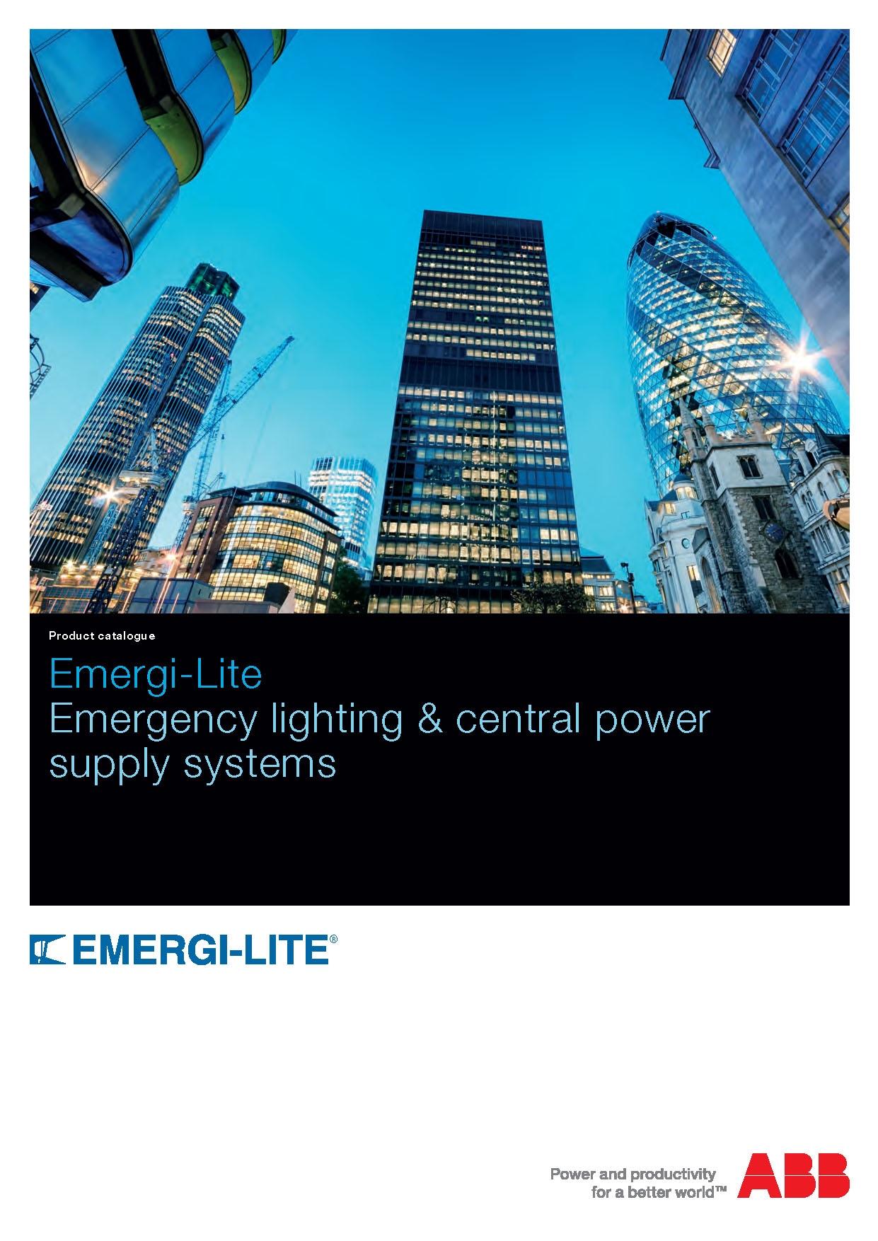 Emergency Lighting Product Catalogue