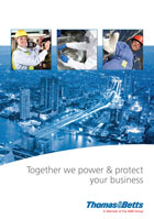 power and protect front cover